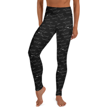 Load image into Gallery viewer, Shark Divers Leggings - High Waist - Scuba Sisters Diving Apparel