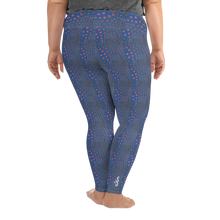 Load image into Gallery viewer, Sunrise Puffer Plus Size Leggings - Scuba Sisters Diving Apparel