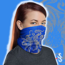 Load image into Gallery viewer, Octopus Face Cover and Neck Gaiter by Scuba Sisters