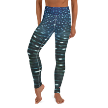 Load image into Gallery viewer, Whale Shark Leggings - High Waist - Scuba Sisters Diving Apparel