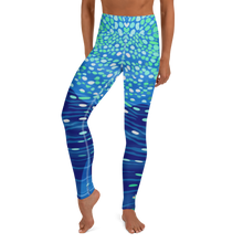 Load image into Gallery viewer, Whale Shark Leggings - Pop Style - High Waist - Scuba Sisters Diving Apparel