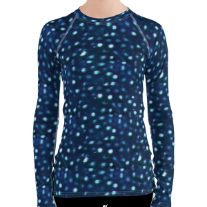 Whale Shark Rash Guard for Women by Scuba Sisters