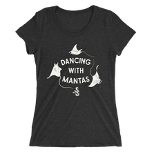 Load image into Gallery viewer, Dancing With Mantas Tee - Fitted Scoopneck