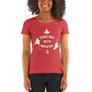 Women's Scuba Diving T-Shirt by Scuba Sisters