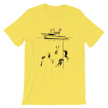 Load image into Gallery viewer, Diving With My Scuba Sisters Tee - Unisex - Scuba Sisters Diving Apparel