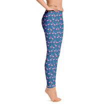 Load image into Gallery viewer, Flamingo Leggings - Scuba Sisters Diving Apparel