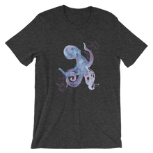 Load image into Gallery viewer, Unisex Octopus Shirt by Scuba Sisters - Dark Grey Heather