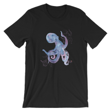 Load image into Gallery viewer, Unisex Octopus Shirt by Scuba Sisters - Black