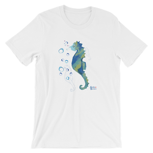 Bubbly Seahorse Tee - Unisex - Scuba Sisters Diving Apparel