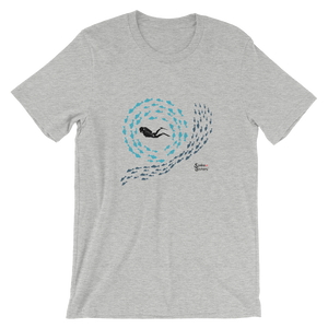 Swirly Fish Tee - Unisex - Scuba Sisters Diving Apparel