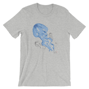 Blue Jellies Tee - Unisex - Scuba Sisters Diving Apparel