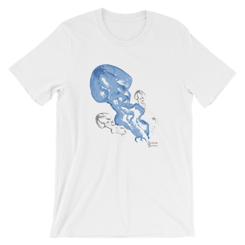Unisex Jellyfish Shirt by Scuba Sisters - White