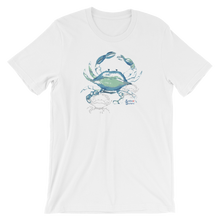 Load image into Gallery viewer, Shadow Crab Tee - Unisex - Scuba Sisters Diving Apparel