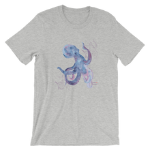 Load image into Gallery viewer, Unisex Octopus Shirt by Scuba Sisters - Athletic Heather