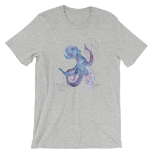 Unisex Octopus Shirt by Scuba Sisters - Athletic Heather