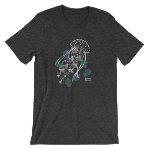 Ghost Jellies Tee - Unisex - Scuba Sisters Diving Apparel