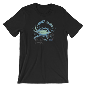 Shadow Crab Tee - Unisex - Scuba Sisters Diving Apparel