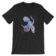 Load image into Gallery viewer, Unisex Octopus Shirt by Scuba Sisters - Black Heather