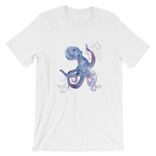 Load image into Gallery viewer, Unisex Octopus Shirt by Scuba Sisters - White