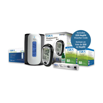 HoyLIFE Diabetes & Hypertension Management Starter Kit - HOY HEALTH