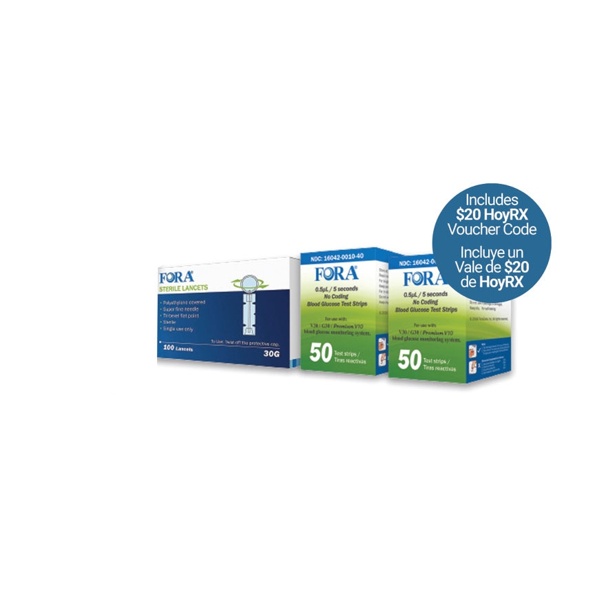 HoyLIFE Diabetes Management Refill Kit - HoyLIFE
