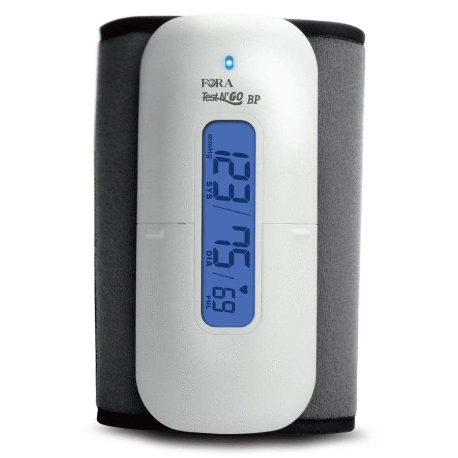 FORA® TN'G (Test N'GO) Wireless Blood Pressure Monitor (Upper Arm / Bluetooth 4.0 & Free App) - HOY HEALTH