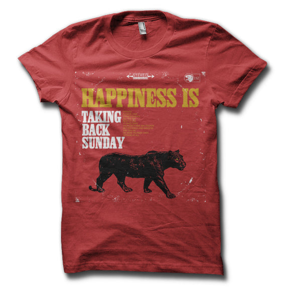 Happiness Is Red T-Shirt