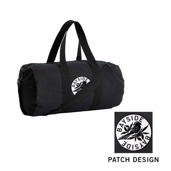 Logo Black Duffel Bag