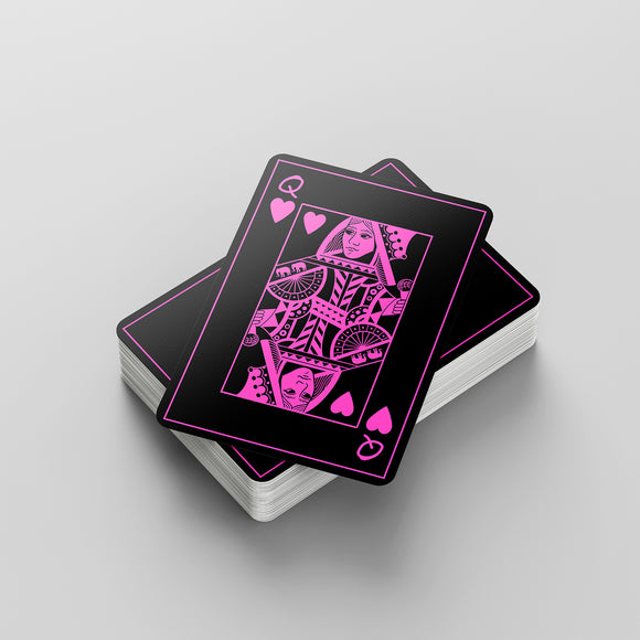 Pink Elephant Playing Cards
