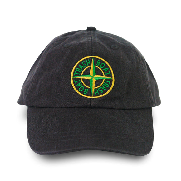 Compass Dark Grey Dad Hat