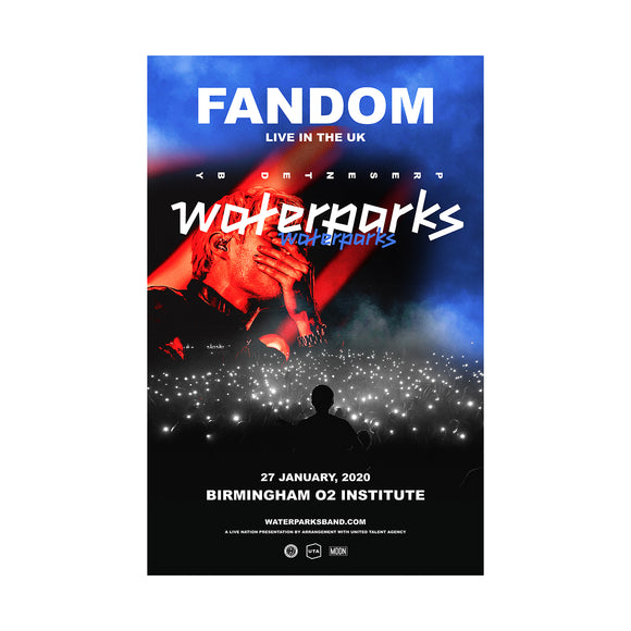 FANDOM: LIVE IN THE UK Poster