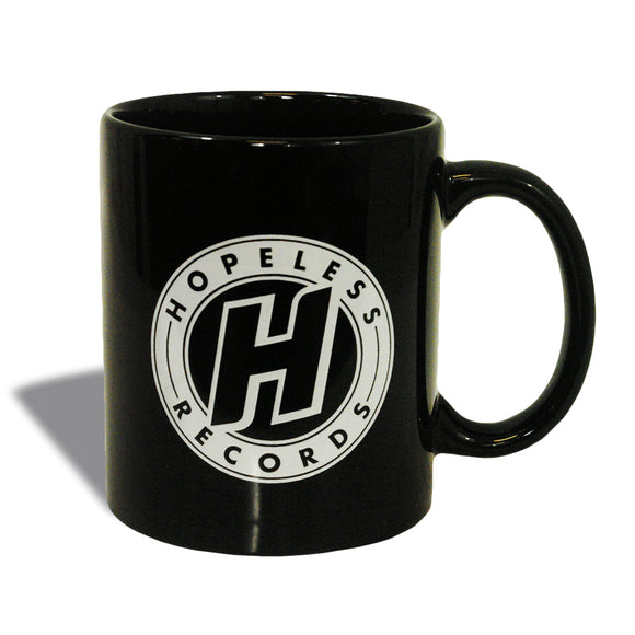 Circle Logo Black Coffee Mug