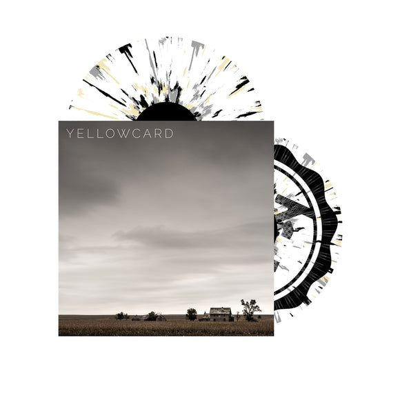 Self Titled Transparent Cloudy Clear W/ Opaque Grey,Black, Cream Splatter