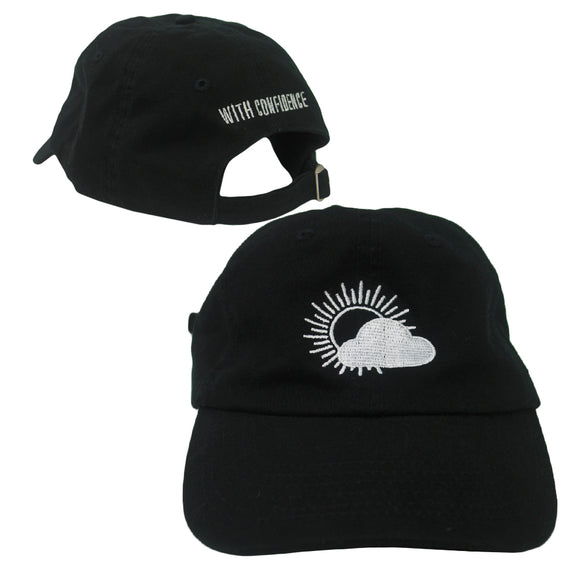 Cloud Black Dad Hat