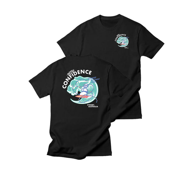 With Confidence - Seasons Greetings Tee
