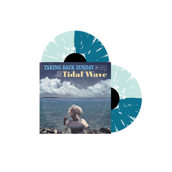 Tidal Wave Coke Bottle & Turquoise W/ White Splatter Vinyl 2Xlp
