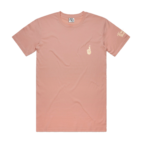 Cartoon Pale Pink
