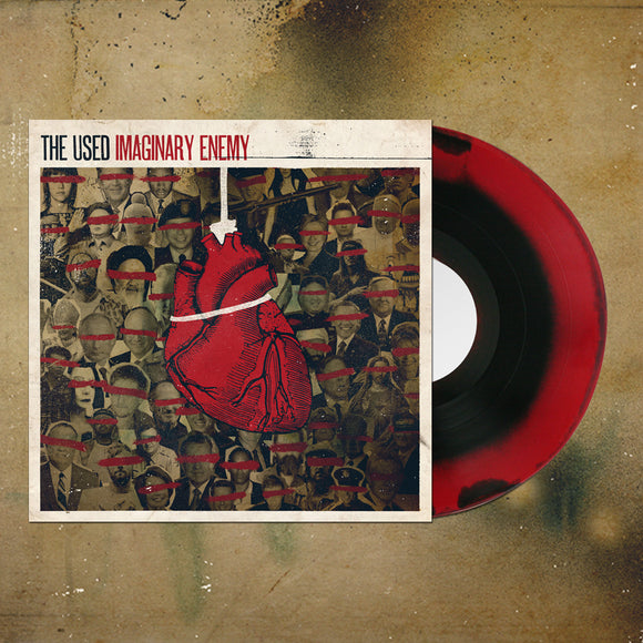 *Last One* Imaginary Enemy Red/Black Smash LP