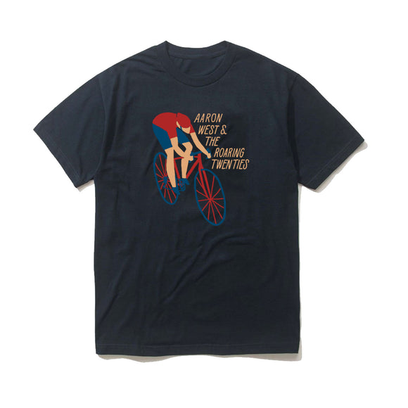 Cyclist Navy
