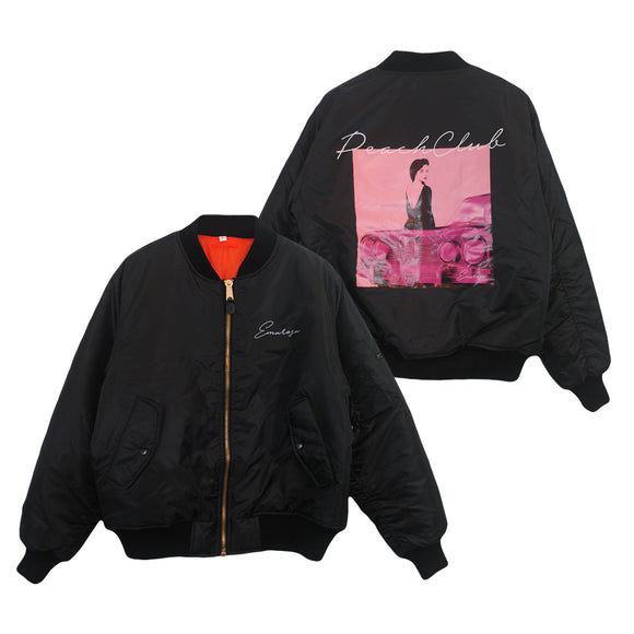 Peach Club Black Bomber