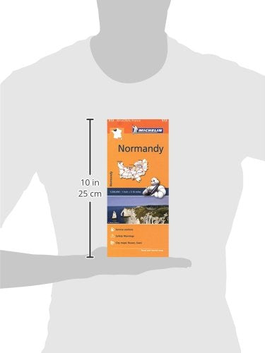 Michelin Regional Maps: France: Normandy Map 513 (Michelin Regional France)