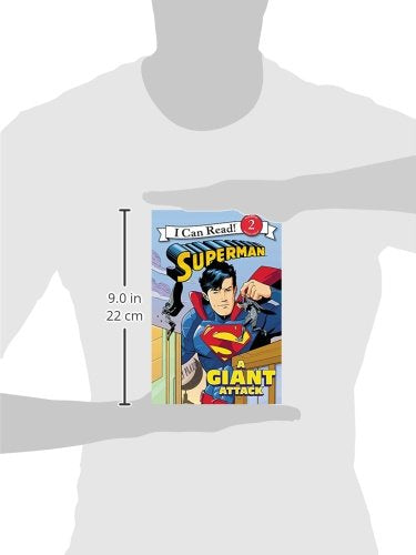 Superman Classic: A Giant Attack (I Can Read Level 2)