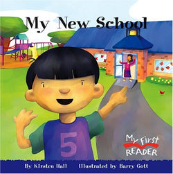 My New School (My First Reader (Paperback))