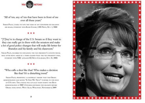 You Betcha!: The Witless Wisdom of Sarah Palin