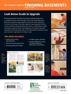 Black & Decker The Complete Guide to Finishing Basements: Projects and Practical Solutions for Converting Basements into Livable Space (Black & Decker Complete Guide)