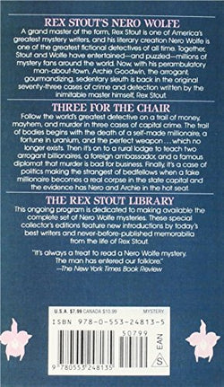Three for the Chair (Nero Wolfe)