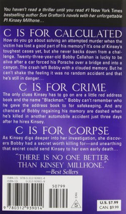 """C"" Is for Corpse: A Kinsey Millhone Mystery (Kinsey Millhone Alphabet Mysteries)"