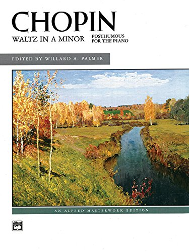 Waltz in A minor: Posthumous for the Piano, Sheet (Alfred Masterwork Edition)