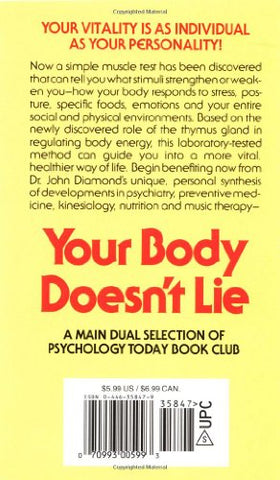 Your Body Doesn't Lie: Unlock the Power of Your Natural Energy!