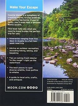 Moon Coastal Maine: Including Acadia National Park (Travel Guide)